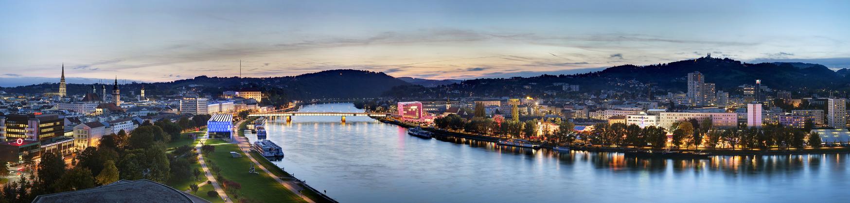 Linz Panorama / © Linz Tourismus Johann Steininger